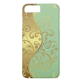 capas de iphone--Seafoam & redemoinhos do ouro