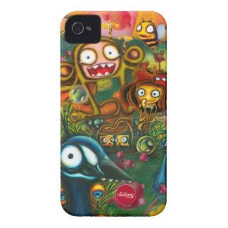 Capas de iphone selvagens & coloridas de Aleloop Capinha iPhone 4