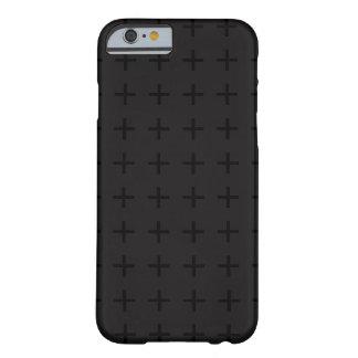 Capas de iphone transversais pretas do design