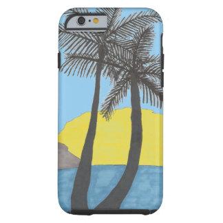 Capas de iphone tropicais da palmeira