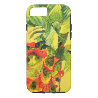 Capas de iphone tropicais do abacaxi