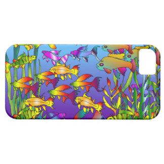 Capas de iphone tropicais dos peixes