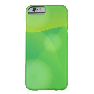 Capas de iphone verdes da arte abstracta capa barely there para iPhone 6