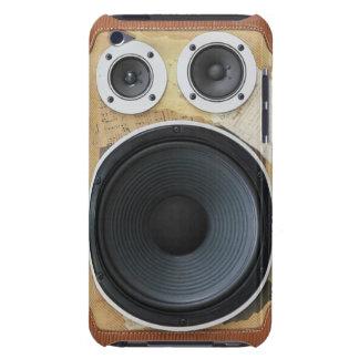 Capas de ipod retros de Boombox Capa Para iPod Touch