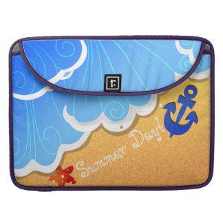 Capas de MacBook Pro da praia do verão Capa Para MacBook