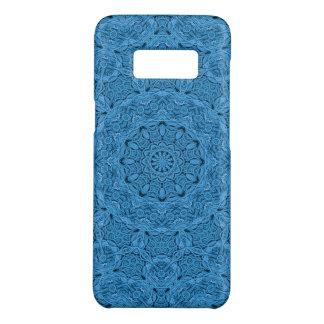 Capas de telefone azuis decorativas do