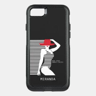Capas de telefone conhecidas feitas sob encomenda capa iPhone 8/7 commuter OtterBox