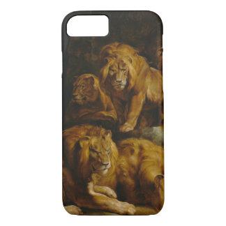 Capas de telefone da arte do antro dos leões'