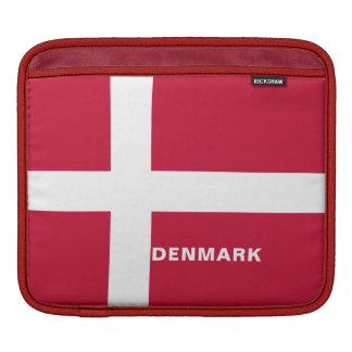Capas do iPad da bandeira de Dinamarca