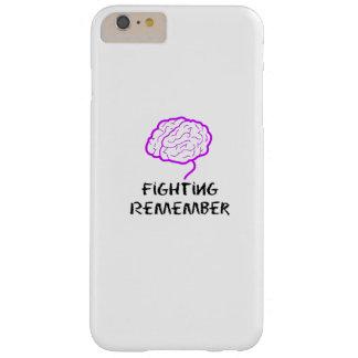 Capas iPhone 6 Plus Barely There A luta roxa da consciência de Alzheimers recorda