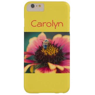 Capas iPhone 6 Plus Barely There Abelha em uma flor
