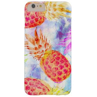 Capas iPhone 6 Plus Barely There Aguarela bonita do teste padrão tropical do