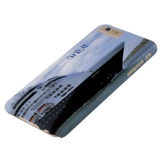 Capas iPhone 6 Plus Barely There Arco lustroso do navio de cruzeiros Monogrammed