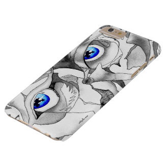 Capas iPhone 6 Plus Barely There Arte dos grafites dos olhos azuis