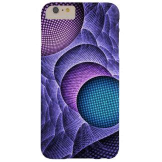 Capas iPhone 6 Plus Barely There Arte feita sob encomenda do fractal das esferas da