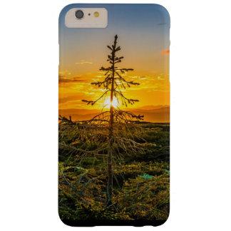 Capas iPhone 6 Plus Barely There Árvore Mystical no caso do telemóvel do por do sol