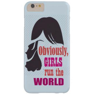 Capas iPhone 6 Plus Barely There As meninas funcionam a caixa do móbil do mundo