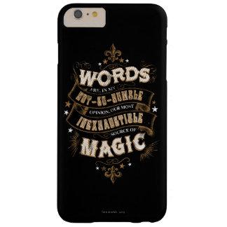 Capas iPhone 6 Plus Barely There As palavras do período | de Harry Potter são nosso