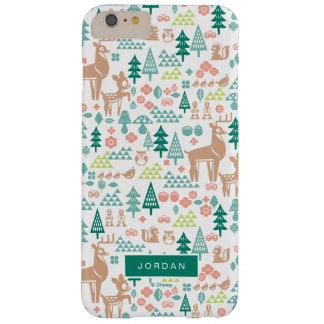Capas iPhone 6 Plus Barely There Bambi e o teste padrão | dos amigos da floresta