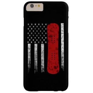 Capas iPhone 6 Plus Barely There Bandeira da snowboarding