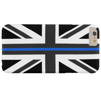 Capas iPhone 6 Plus Barely There Bandeira fina de Blue Line Reino Unido