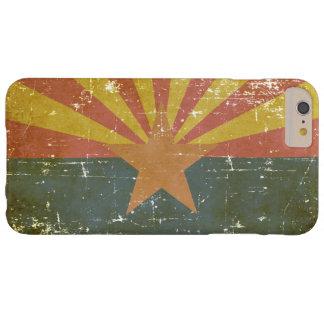 Capas iPhone 6 Plus Barely There Bandeira patriótica gasta do estado da arizona