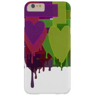 Capas iPhone 6 Plus Barely There Blocos da cor que derretem corações