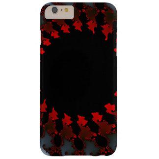 Capas iPhone 6 Plus Barely There Branco preto vermelho do Fractal
