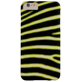 Capas iPhone 6 Plus Barely There Caixa amarela de néon da zebra