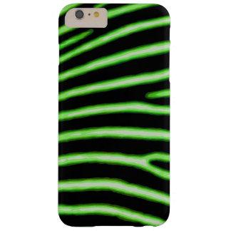 Capas iPhone 6 Plus Barely There Caixa verde de néon da zebra