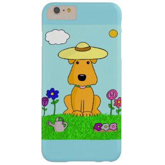 Capas iPhone 6 Plus Barely There Cão bonito de Airedale no iPhone 6/6s do jardim