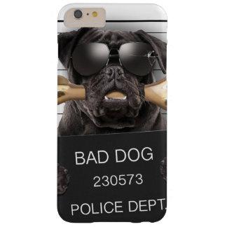 Capas iPhone 6 Plus Barely There Cão do Mugshot, pug engraçado, pug