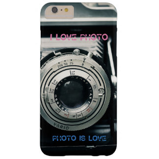 Capas iPhone 6 Plus Barely There Case I LOVE PHOTO PHOTO IS LOVE