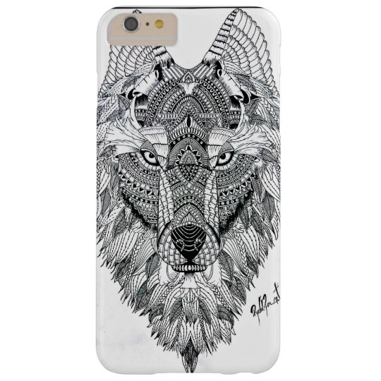 Capas iPhone 6 Plus Barely There Case Wolf