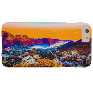 "Capas iPhone 6 Plus Barely There Caso positivo do ""paisagem do iPhone 7 dos cactos"