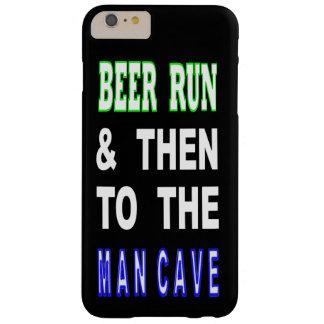 Capas iPhone 6 Plus Barely There Cerveja funcionada & então à caverna do homem