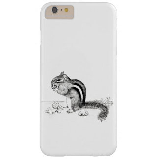 Capas iPhone 6 Plus Barely There Cobrir do nexo da galáxia do Chipmunk