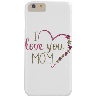Capas iPhone 6 Plus Barely There Coração do dia das mães da mamã do amor