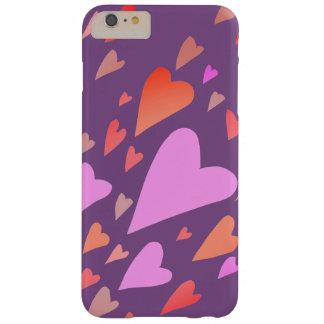 Capas iPhone 6 Plus Barely There Corações por Leslie Harlow