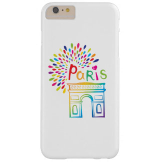 Capas iPhone 6 Plus Barely There Design de néon de Paris France | Arco do Triunfo |
