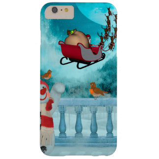 Capas iPhone 6 Plus Barely There Design do Natal, Papai Noel