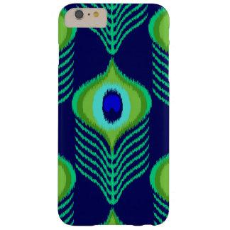 Capas iPhone 6 Plus Barely There Design marroquino do ikat da pena do pavão