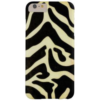Capas iPhone 6 Plus Barely There Design preto do impressão do teste padrão do tigre