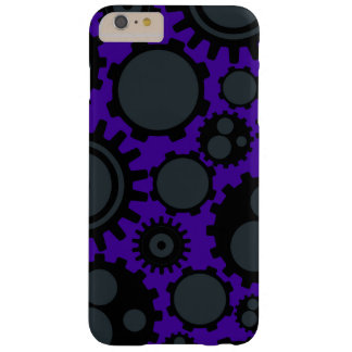Capas iPhone 6 Plus Barely There Engrenagens de Steampunk do Grunge