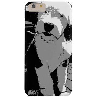 Capas iPhone 6 Plus Barely There Esboço inglês velho do Sheepdog