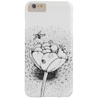 Capas iPhone 6 Plus Barely There Exemplo dos joaninhas e das tulipas