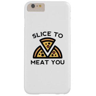Capas iPhone 6 Plus Barely There Fatia à carne você