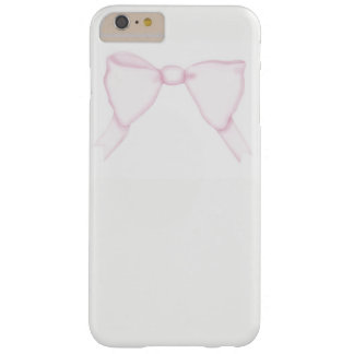 Capas iPhone 6 Plus Barely There feminino feminino do arco cor-de-rosa simples das