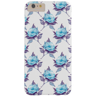 Capas iPhone 6 Plus Barely There Flores 4 do azul