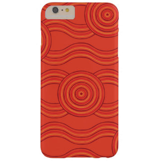 Capas iPhone 6 Plus Barely There Fogo aborígene da arte
